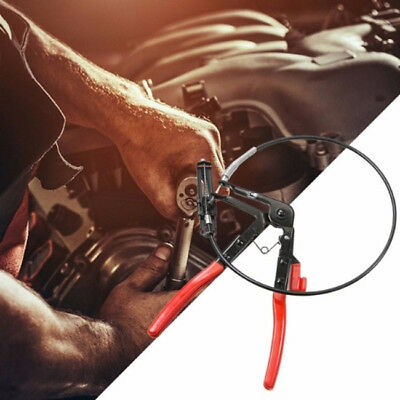 Long Reach Flexible Wire Clamp Pliers Locking Tool Oil,Fuel,Water Hose Tool LE