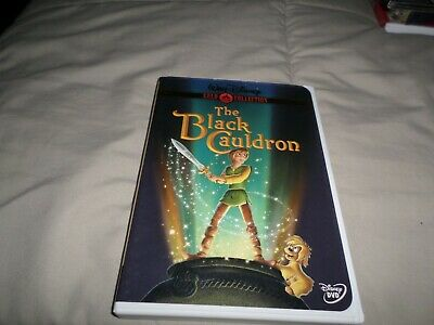 The Black Cauldron Gold Collection  Dvd Disney With Insert