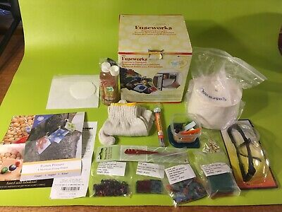 Diamond Tech Fuseworks Beginners Fusing Kit Microwave Kiln And Extras