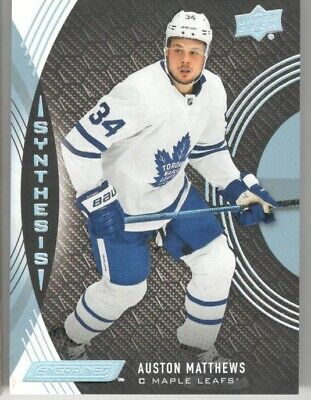 2018-19 Ud Upper Deck Engrained Auston Matthews Synthesis #S-20
