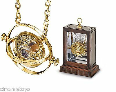 Harry Potter Hermione's 24k Gold Time Turner by The Noble Collection NN7017
