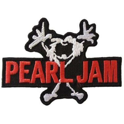 *Pearl Jam Embroidered Iron/Sew On Patch*