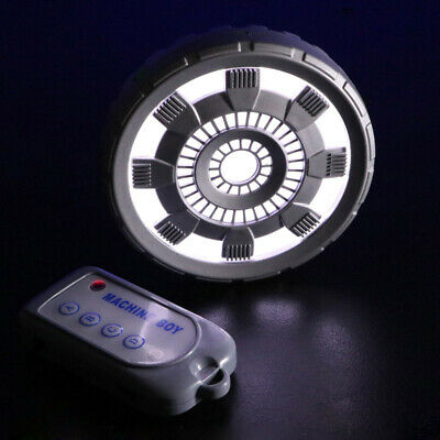 Iron Man Cosplay Props Chest Lamp Arc Reactor With Remote Control LED Light Gift