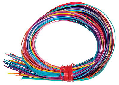 Twisteez Craft Sculpture Wire, 125 ft, Assorted Color, Pack of 50