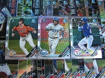 2019 Bowman Mega Box Chrome MOJO Refractors - YOU PICK - FREE SHIP