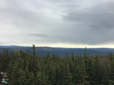 Real Estate In Alaska / 4.8 Acres With Cabin And Garage Excellent Views