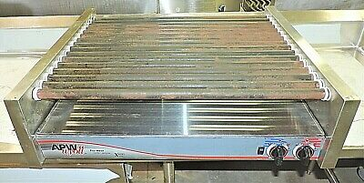 Apw Wyott Hrs-75 Restaurant Concession Equipment Electric Hot Dog Roller Grill