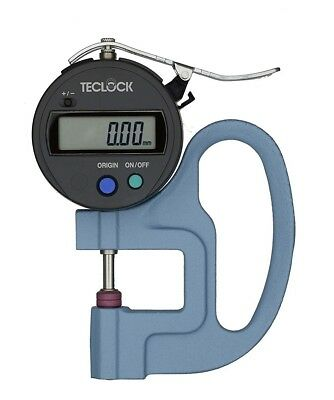 TECLOCK DIGITAL THICKNESS GAUGE (0~12mm/0.010mm) SMD-540S2 MADE IN JAPAN