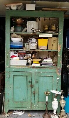 Antique 1930s Country Cupboard/Hutch