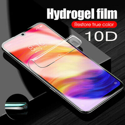 10D Curved Full Cover Tempered Glass Screen Protector For Xiaomi Mi 8 9 Redmi 6A