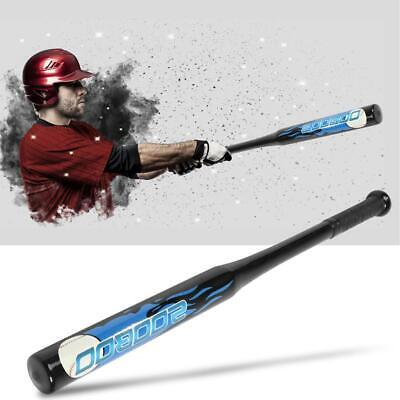 30inch Quality Sport Solid Alloy Steel Non-slip Baseball Bats Self Defense Black