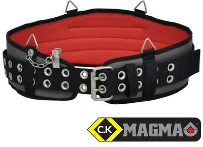 "CK Magma Heavy Duty Adjustable Padded Tool Belt For Tool Pouch 28"" - 46"" MA2723"