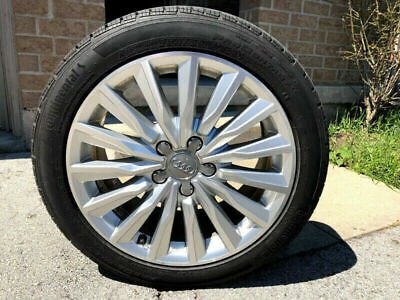Audi All Sesons Tires and Rims Great Condition 225/45 R17