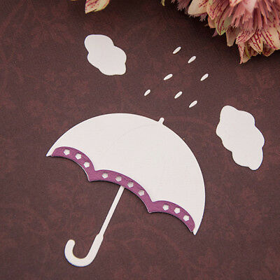 Umbrella Metal Cutting Dies Stencils For Scrapbooking Photo Album Paper Card