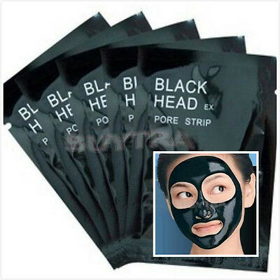 3/5/10/20x Blackhead Removal Nose Pore Strips Black Head Mud Mask