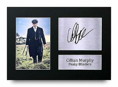 Cillian Murphy A4 Signed Printed Autograph Print Gift Display Peaky Blinders