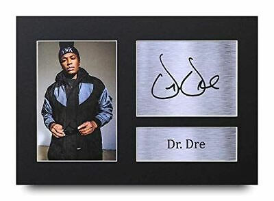 HWC Trading Dr Dre Gifts Signed A4 Printed Autograph NWA Gift Music Print Photo