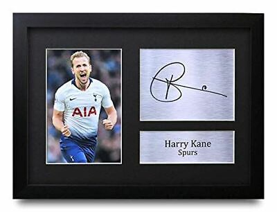 HWC Trading FR Harry Kane Gifts Signed A4 Printed Autograph Tottenham Hotspur Sp
