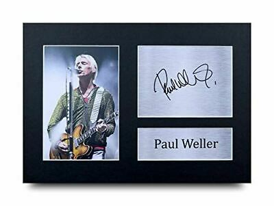HWC Trading Paul Weller Signed A4 Printed Autograph Music Gift Print Photo Pictu