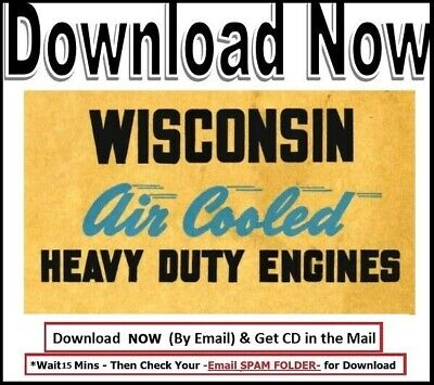 Wisconsin Engine Instruction & Parts AEN Model MM-254-A