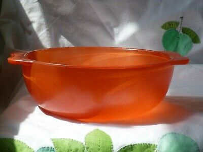 Vintage Pyrex Sprayware Large Red Bowl UNUSED 50's Retro