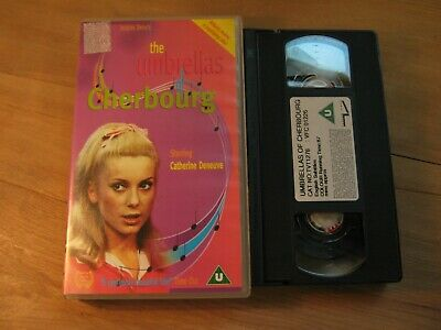 The Umbrellas of Cherbourg vhs