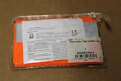 Audi High Visibility Vest 8X0093056A New Genuine Audi part