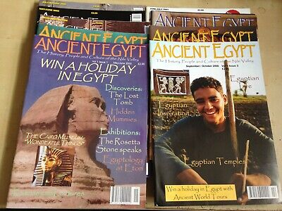 Ancient Egypt Magazine - 14 Issues - 2000-2002