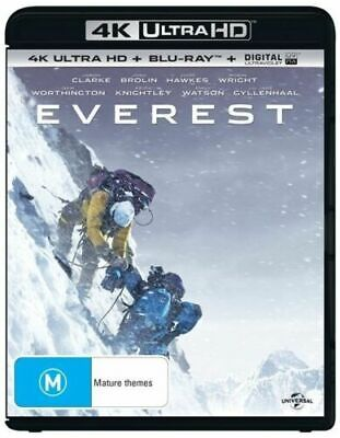 Everest: 4K UHD/Bluray - Region B New