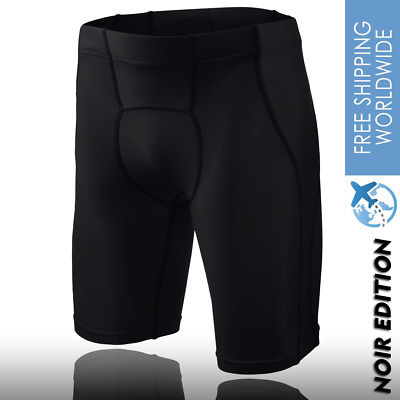 Mens Shorts Skins Armour A400 Noir V3000 Workouts Running Gym OCR Spartan Race