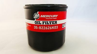 (MERCURY) FOURSTROKE OUTBOARD Oil Filter Part Number 35-822626K03