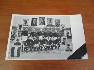 Calcio/Football Cartolina sq. GRANDE TORINO originale