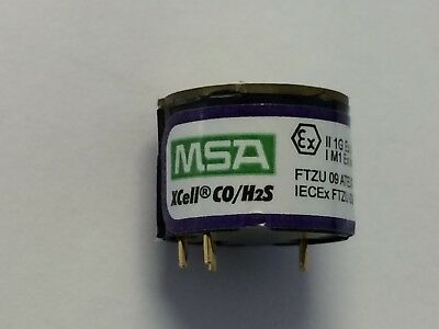 MSA 10106725 ALTAIR 4X and 5X CO/H2S REPLACEMENT SENSOR NEW