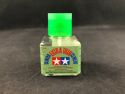 Tamiya Extra Thin Cement 40ml 87038 New Bottle Free Shipping