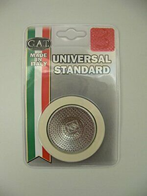 GAT Italy 3-Cup Stovetop Espresso Maker Spare Parts including Rubber Seals and F