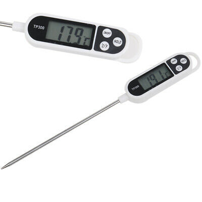 Digital Kitchen Thermometer For Meat Water Milk Cooking Food Probe BBQ Tools GN