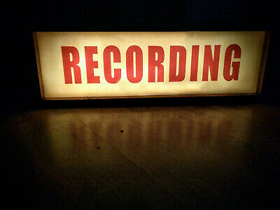 Recording Studio Light Box / On Air Lightbox  / Recording Light Sign
