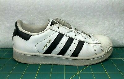 44215820 ADIDAS SUPERSTAR REPTILE J Sneaker - Big Boy's Size 4, White/Black ...