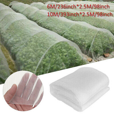 10x2.5M Plant Crops Vegetables Protect Mesh Bird Insect Pest Garden Net Netting