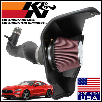 """3.25/"""" BLACK Cold Air Intake Kit+Filter For 15-17 Mustang 2.3L Turbo EcoBoost"""