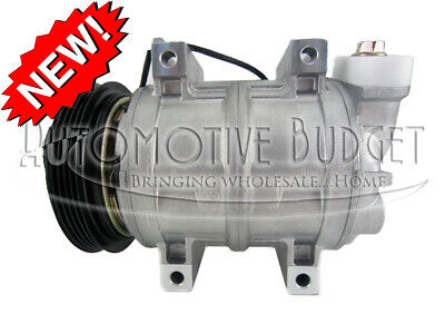 A/C Compressor w/Clutch for Medium Duty Trucks - NEW