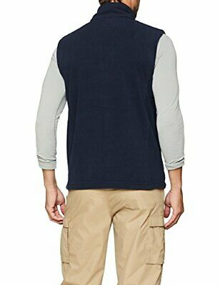 Regatta Mens Microfleece Bodywarmer Regular Fit Indoor Gilet, Blue Dark Navy,