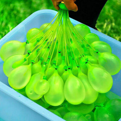 Kids toy Water Balloons Bombs* Kids Summer Party Fun Toys Self Tying Fast Fill