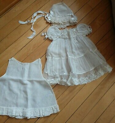 "DUTCH HOLLAND DRESS APRON HAT HANDMADE for 15-17/"" CPK Cabbage Patch Kids"