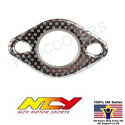 NCY STEEL EXHAUST GASKET FOR 150cc GY6 AND 50cc QMB139 MOTORS