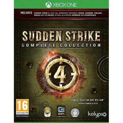 SUDDEN STRIKE 4 Complete Collection Xbox One - PREORDINE 06 settembre 2019