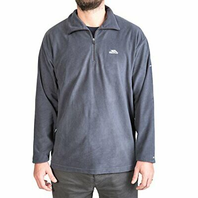 Trespass Mens Masonville Ultralight Microfleece Jacket, Flint, Medium