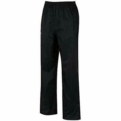 Regatta Mens Pack It Waterproof Over Trouser, Black, 58-60 EU, 2XL UK
