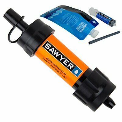 Sawyer Products SP103 Mini Water Filtration System, Single, Orange