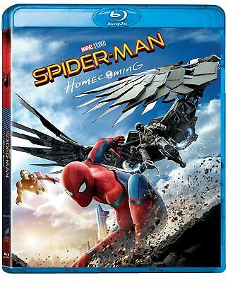  124027 Spider-Man Homecoming (Blu-Ray x 1 Édition Italienne) Neuf